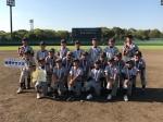 習志野市少年野球春季大会 第4位